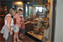 Visitors to the Lake Superior Maritime Visitor Center view artifacts in a diving and recovery display in Duluth, Minn.