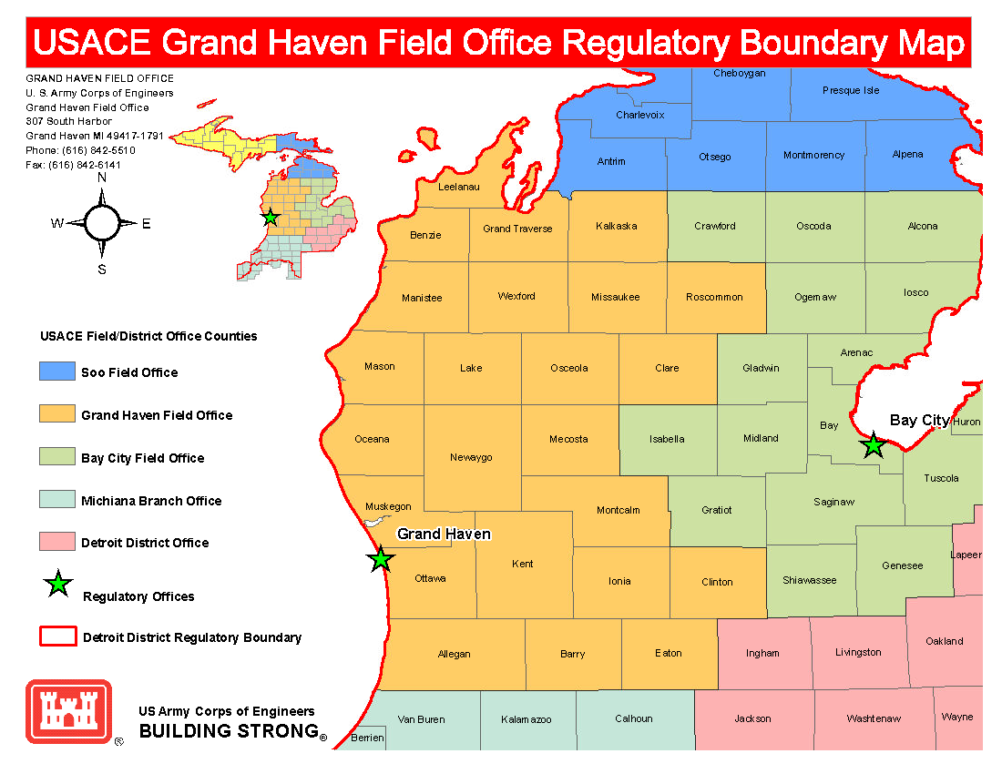 Detroit District Missions Regulatory Program And Permits